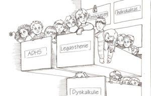 ADHS Legasthenie Dyskalkulie
